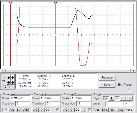 Экран осциллографа 1 рис.2